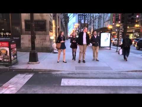 Walking in Chicago - Chicago Loop