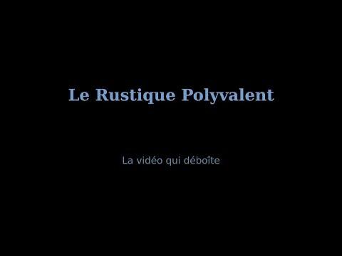 Seau chêne 11 Litres - Le Rustique Polyvalent vidéo