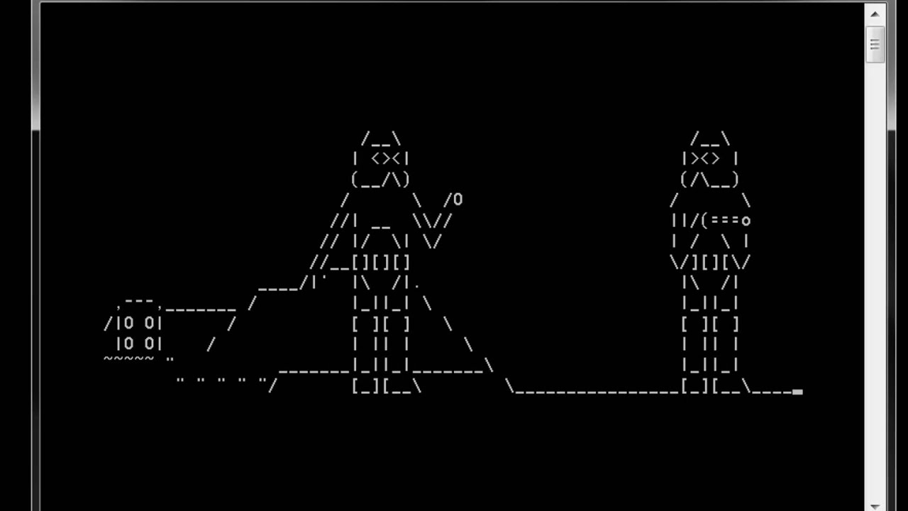 howto watch ascii star wars in windows xp vista 7 and