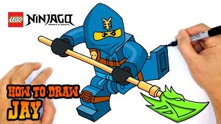 How to Draw Jay | Ninjago