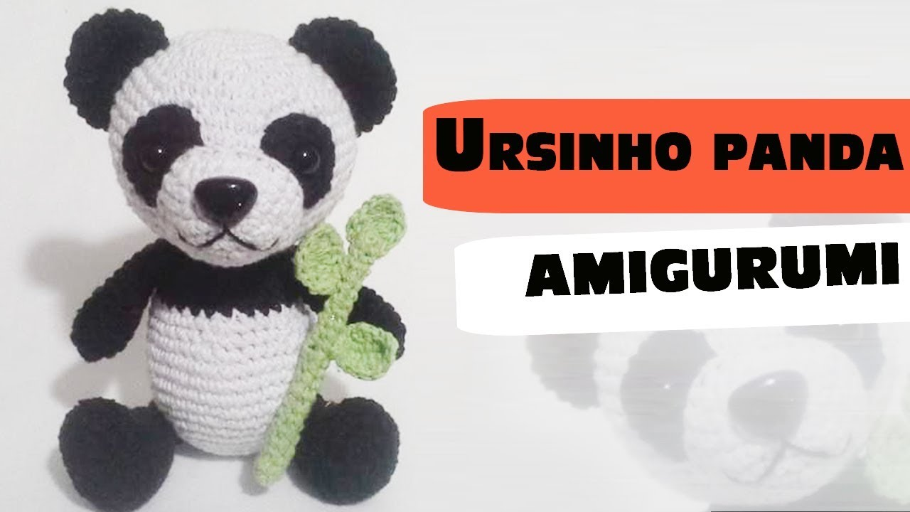 CROCHET English PATTERN pdf Amigurumi toy Panda tutorial | Etsy | 720x1280