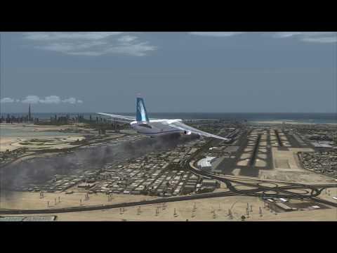 Antonov 124 Plane Crash at Dubai