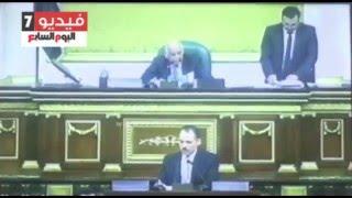رئيس البرلمان فى بيان عن أزمة