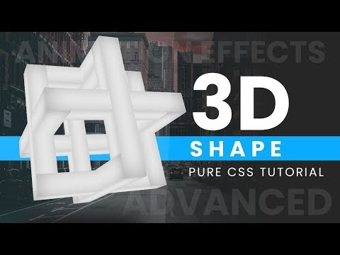 Online Tutorial for 3D Shape Animation Effects in CSS With Demo thumbnail