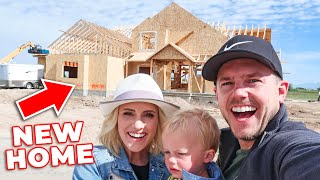 Walking Through Our Future DREAM HOME! | Ellie and Jared