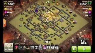 [Clash Of Clans] | Stoned GoHo | Surgical | TH9 | 3stars #001