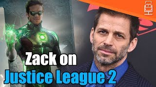 Zack Snyder is STILL Involved With Justice League 2 & Wonder Woman 2
