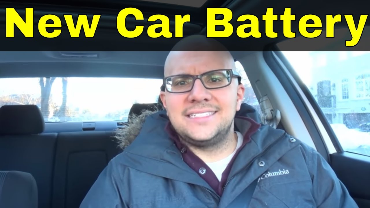 how to know when you need a new car battery