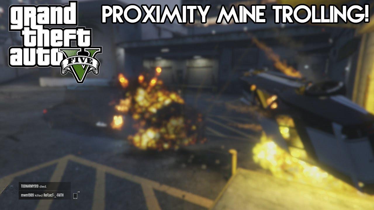 gta v how to get proximity mines