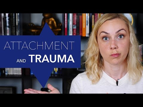 How is attachment related to trauma?