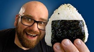 Making Mushroom Onigiri the Japanese Rice Balls!
