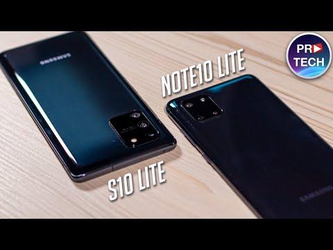 Полный обзор Samsung Galaxy S10 Lite и Galaxy Note 10 Lite - Что выбрать?