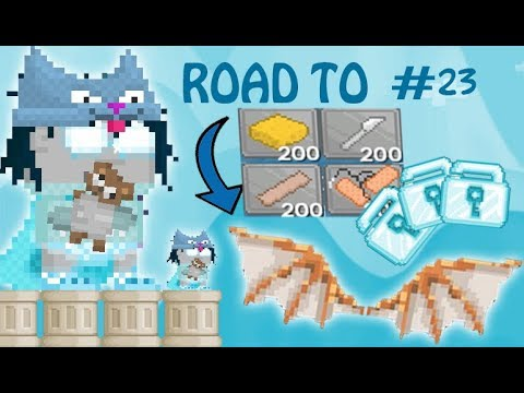 Growtopia - ROAD TO DA VINCI WING! Episode #23 - 10DL INVESTMENT + NEW PROJECT!