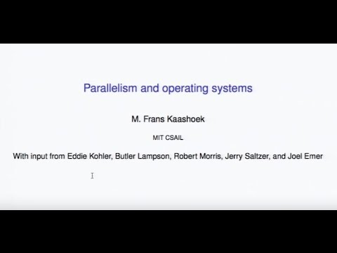 Parallel computing and the OS