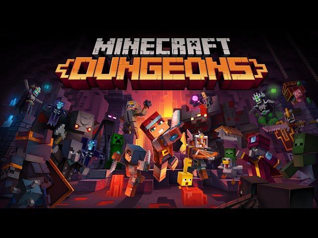 Minecraft Dungeons All Cutscenes (Game Movie) 1080p HD