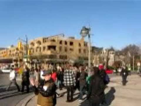 Occupy London, Ontario Solidarity March