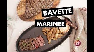 RECETTE FACILE RAPIDE BAVETTE MARINÉE 🥩Marinade steak grill BBQ Petite bette