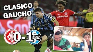 Internacional 0 Gremio 1 | Reaccion de un Argentino | Libertadores 2020 - Jornada 4 | Ft. MacoBrown
