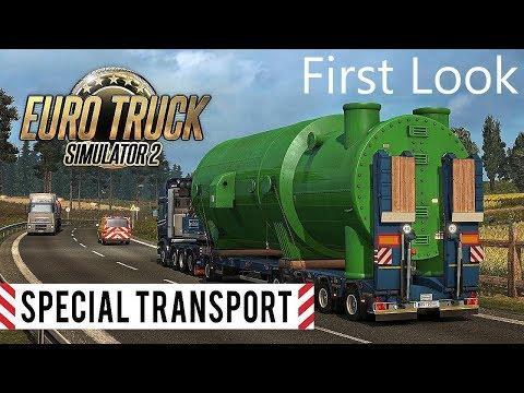 ETS2 I Special Transport DLC I First Look ★ DLC Vorstellung ★ #536 LIVE-Tour [Deutsch/HD]