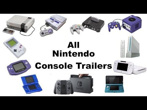 All Main Nintendo Console Trailers (1985-2016)