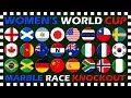 Women's World Cup 2019 - Knockout Marble Race - Algodoo