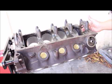 Project Merc Stage 2 Episode 2: Engine Crank Bore Measurements and Oil Galley Plug (Part 1/2)