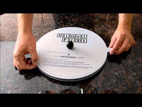 Vinyl Flat Record Flattener