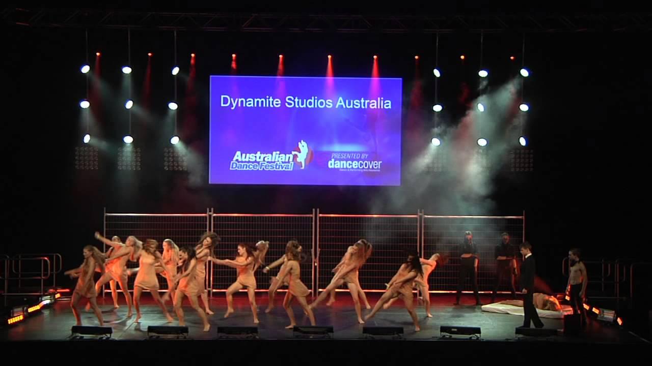 2014 australian dance festival dynamite studios for Studio australia
