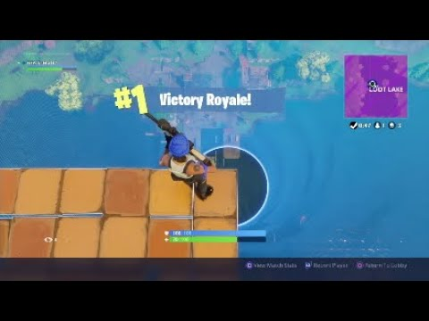 Crazy Skybase/Stairway To Heaven Win In Fortnite Battle Royale