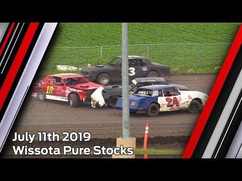 July 11th 2019, RRCS Wissota Pure Stocks Heats & Feature
