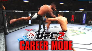 "UFC 2 Career Mode - CM Punk - Ep. 16 - ""SUPERMAN THAT HO!!"""