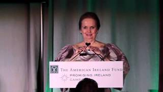 Amb. Dan Rooney and Loretta Brennan Glucksman at The American Ireland Fund 2013 New York Dinner Gala