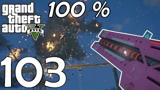 RAILGUN Disrespect!!! - GTA V  (100 % PC) #103 [1080p60/Facecam/Ultra/Deutsch]