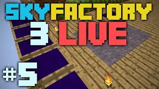 SkyFactory 3 LIVE [5] Ender Dragon Fight!