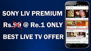 Sony Liv Premium