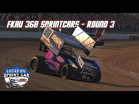 iRacing: FKAU 360 Sprintcars (Round 3 @ Eldora)