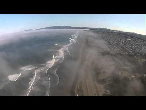 Drone Timelapse Fog Marine Layer San Francisco