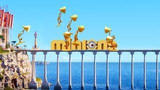700-Seven Pixar Lamps Luxo Jr Spoof Attack Minions Logo