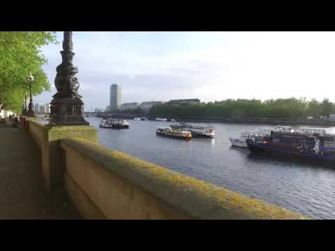 Running Thames Path - Top Running Routes in London