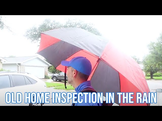 Old Home Inspection in the Rain