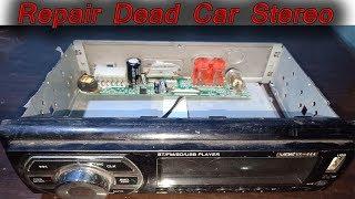 Car Stereo Repair | Dead Car stereo repair in Hindi | #Danoda Tech