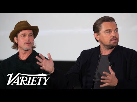 Leonardo DiCaprio & Brad Pitt Talk 'Once Upon a Time in Hollywood' | Presented by Vudu