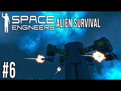 FIRE AT WILL! | Space Engineers ALIEN Survival - Ep 6