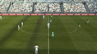 PES 2013 Demo (New Long Camera Angle)