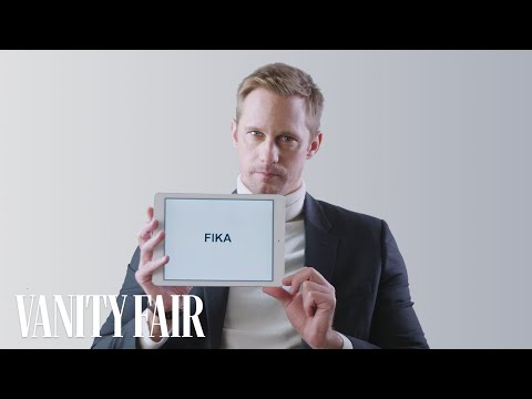 Alexander Skarsgård Teaches You Swedish Slang  Vanity Fair