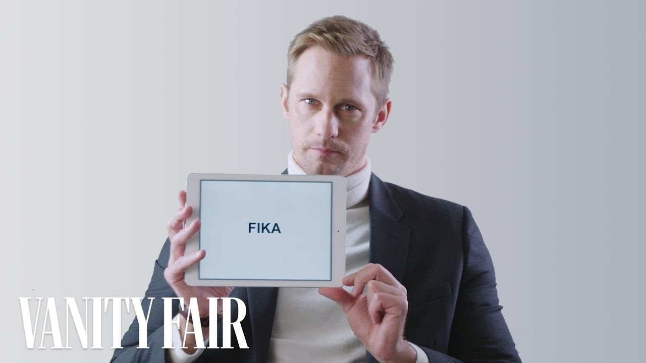 Alexander Skarsgård Explains Swedish Slang