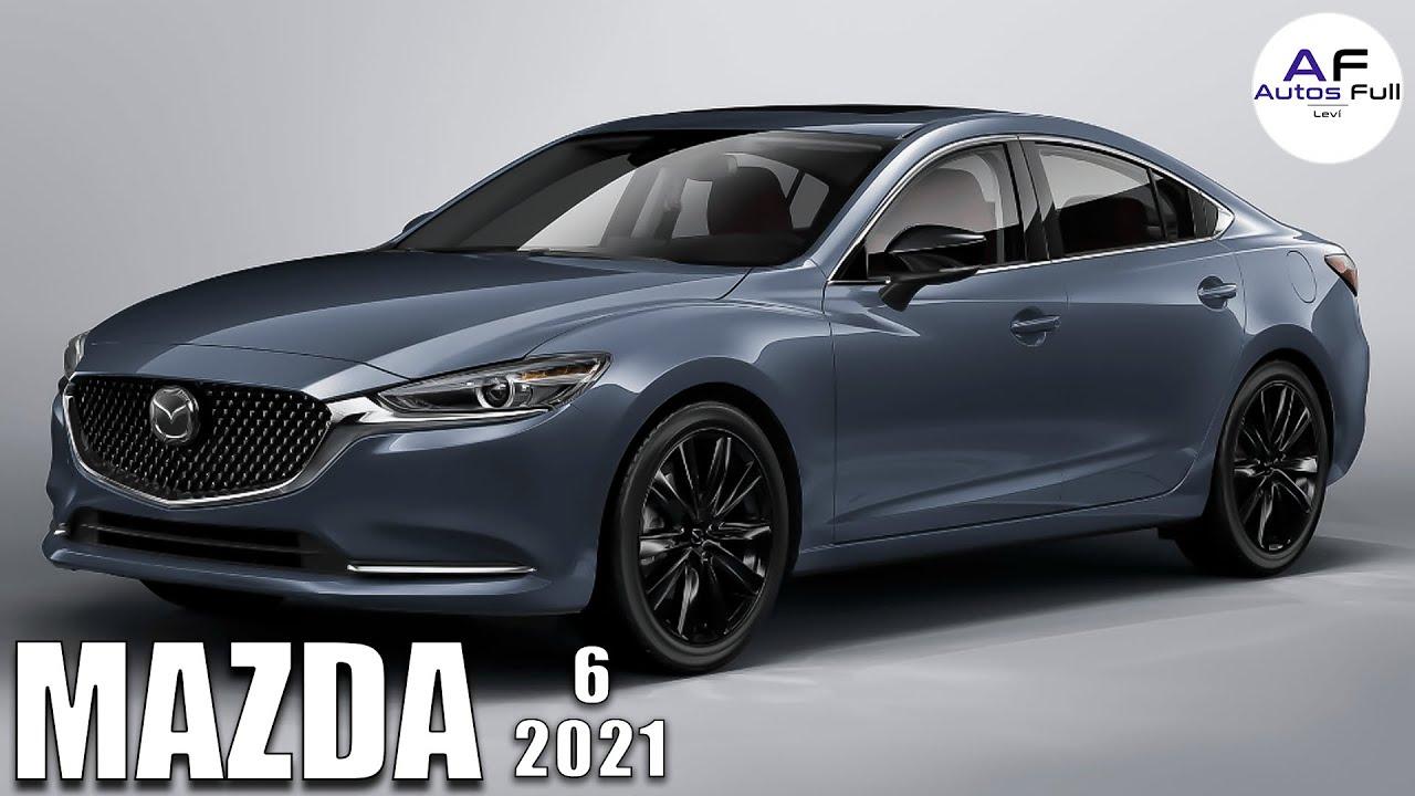Mazda 6 2021   Presentación