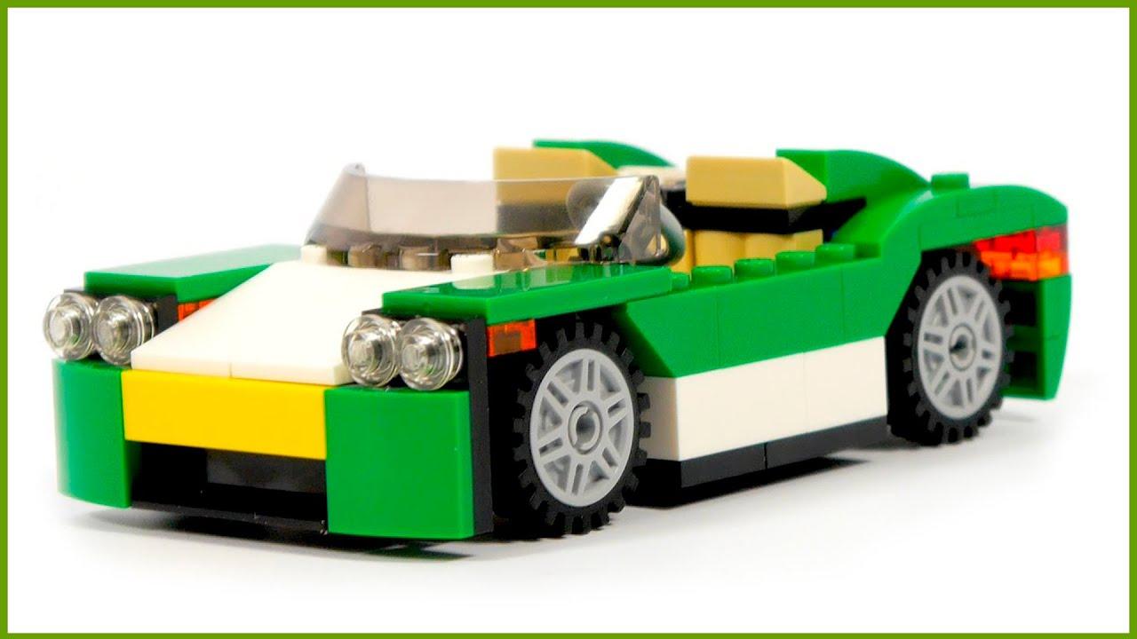 Lego Creator 31056 Green Cruiser 3 In 1 Lego Speed Build