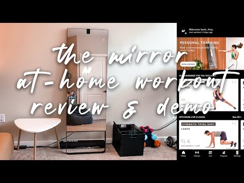 the $1500 fitness mirror workout interactive home gym review/first impressions ✖︎ EverSoCozy