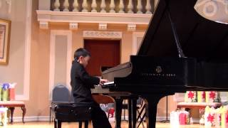 Anthony Wang plays Edvard Grieg, Notturno Op  54, No 4